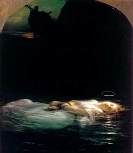 La Jeune Martyre by Paul Delaroche (1797-1856)